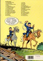Verso de Les tuniques Bleues -28a1991- Les bleus de la balle