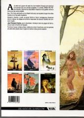 Verso de Les pionniers du Nouveau Monde -3a90- Le champ d'en-haut