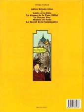 Verso de Adèle Blanc-Sec (Les Aventures Extraordinaires d') -3a84- Le Savant Fou