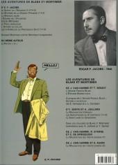 Verso de Blake et Mortimer (Les Aventures de) -7c2011- L'Enigme de l'Atlantide