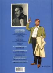 Verso de Blake et Mortimer (Les Aventures de) -11c2013- Les 3 formules du Professeur Satô - Tome 1