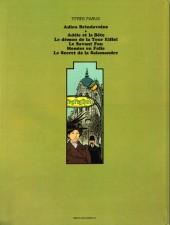 Verso de Adèle Blanc-Sec (Les Aventures Extraordinaires d') -2a84- Le Démon de la Tour Eiffel