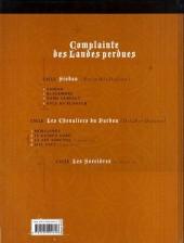 Verso de Complainte des Landes perdues -6a2014- Le Guinea Lord