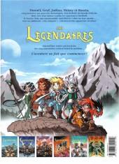 Verso de Les légendaires -4a2006/12- Le réveil du Kréa-Kaos