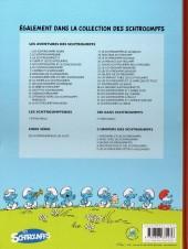 Verso de Les schtroumpfs -33- Schtroumpf le héros