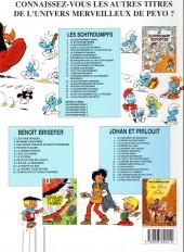Verso de Les schtroumpfs - Schtroumpferies -3a2004- Schtroumpferies - 3