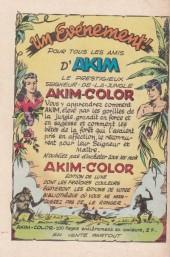 Verso de Akim (1re série) -207- Le piège mortel