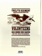 Verso de Pinkerton -3- Dossier massacre d'Antietam - 1862