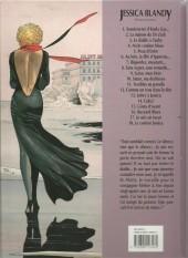 Verso de Jessica Blandy -12a2001- Comme un trou dans la tête