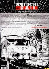 Verso de La brigade du rail -2- Les Naufragés de Malpasset