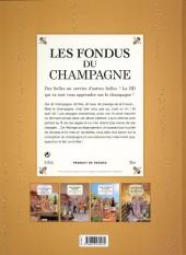 Verso de Les fondus du vin -4- Les fondus du champagne