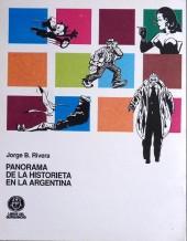 Verso de (AUT) Pratt, Hugo (en espagnol) -TL- Panorama de la historieta en la Argentina
