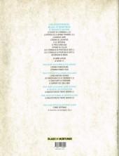 Verso de Blake et Mortimer (Les Aventures de) -HS2- Les Carnets d'Edgar P. Jacobs