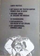 Verso de Corto Maltese (en néerlandais) -1- Het geheim van Tristan Bantam - Rendez-vous in Bahia