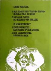 Verso de Corto Maltese (en néerlandais) -2- Snelvuur Samba - De Adelaar van Brazilie