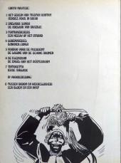 Verso de Corto Maltese (en néerlandais) -7- Tintoretto - Ierse ballade