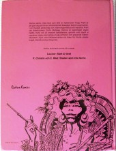 Verso de Corto Maltese (en langues étrangères) -3Suédois- De vackra drömmarnas lagun