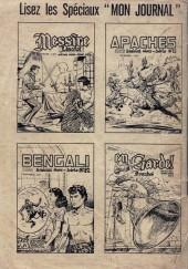 Verso de Whipii ! (Panter Black, Whipee ! puis) -16- les récits du Capitaine Walter - Frontières en flammes
