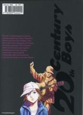 Verso de 20th Century Boys - Deluxe -4- Tome 4