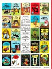 Verso de Tintin (Historique) -19C6- Coke en stock