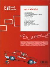 Verso de Benoît Brisefer -1Film- Les taxis rouges
