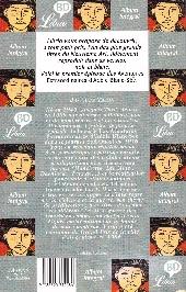 Verso de Adèle Blanc-Sec (Les Aventures Extraordinaires d') -1Librio- Adèle et la Bête