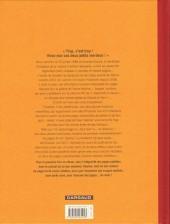 Verso de Les innommables (Série actuelle) -2a- Aventure en jaune