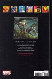 Verso de Marvel Comics - La collection (Hachette) -2129- Wolverine - Les Origines