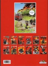 Verso de Les pompiers -6a2013- Un homme et une flamme