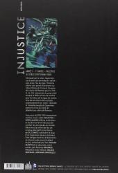 Verso de Injustice - Les Dieux sont parmi nous -1- Année 1 - 1re partie