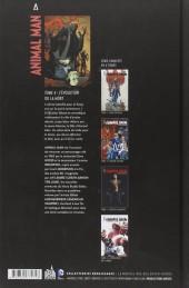 Verso de Animal Man -4- L'évolution ou la mort