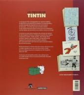 Verso de Tintin - Divers -1b- Les Trésors de Tintin - 22 fac-similés rares extraits des archives d'Hergé