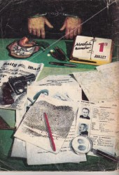 Verso de Scotland Yard (Impéria) -4- La Clé perdue