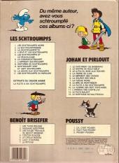 Verso de Johan et Pirlouit -3c83- Le lutin du bois aux roches