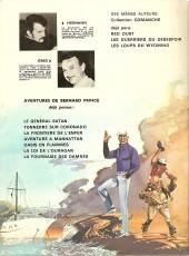 Verso de Bernard Prince -8'- La flamme verte du conquistador
