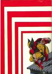 Verso de Serval-Wolverine -Rec02- Album N°2 (du n°4 au n°6)