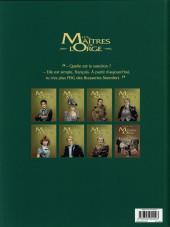 Verso de Les maîtres de l'Orge -7a2014- Frank, 1997
