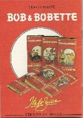 Verso de Bob et Bobette (Publicitaire) -Ita1- Les Piquedunes Pickpockets
