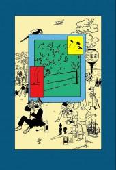 Verso de Tintin - Pastiches, parodies & pirates - Les Aventures du forum en Oubapie - 99 exercices de style et même un peu plus