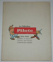 Verso de Astérix -1'- Asterix le Gaulois