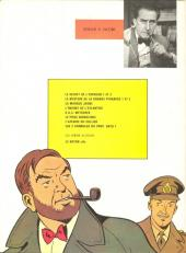 Verso de Blake et Mortimer (Les aventures de) (Historique) -6g1982/03- L'Énigme de l'Atlantide