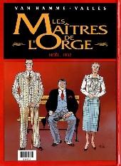 Verso de Les maîtres de l'Orge -INTFL2- Adrien, 1917 / Noël, 1932