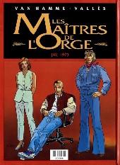 Verso de Les maîtres de l'Orge -INTFL3- Julienne, 1950 / Jay, 1973