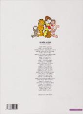 Verso de Garfield -15a2000- Fait boule de neige