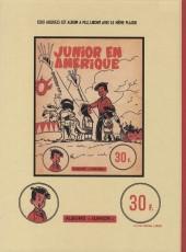 Verso de Luc Junior -5- Junior millionnaire