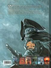 Verso de Le siècle des ombres -6- Le Diable