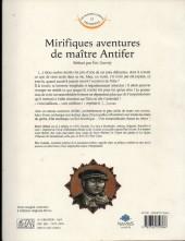 Verso de Les mondes connus et inconnus - Mirifiques aventures de maître Antifer