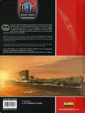 Verso de U.47 -7TL- Duel sous la Manche