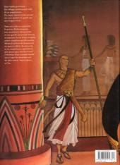 Verso de Sur les terres d'Horus -1a2007- Khaemouaset ou la loi de Maât