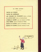 Verso de Tintin - Pastiches, parodies & pirates -PIR- Tintin au pays des soviets